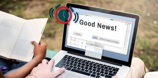 58808298 - good news information announcement thinking concept